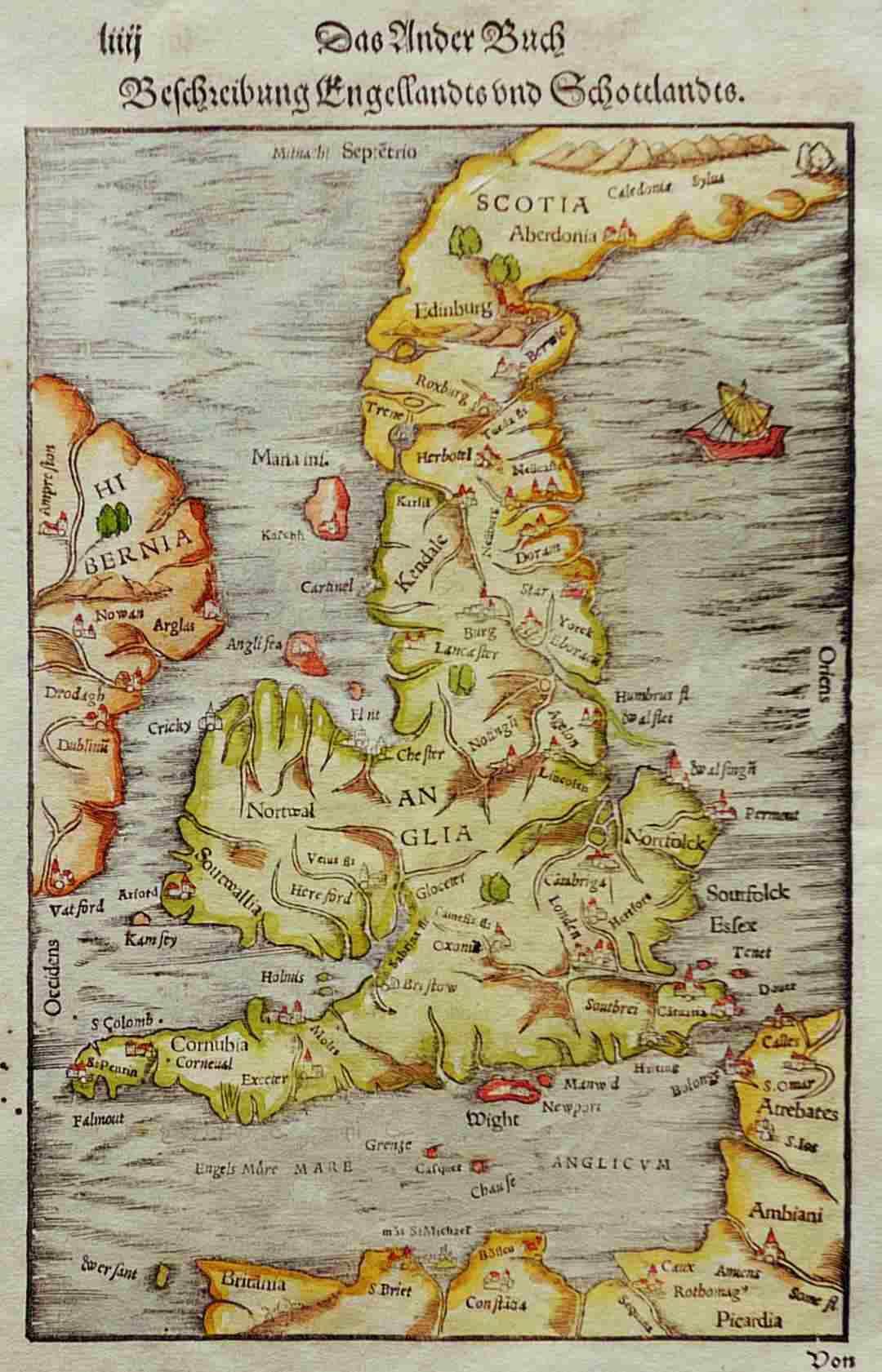 British Isles Britain Michael Jennings Antique Maps And