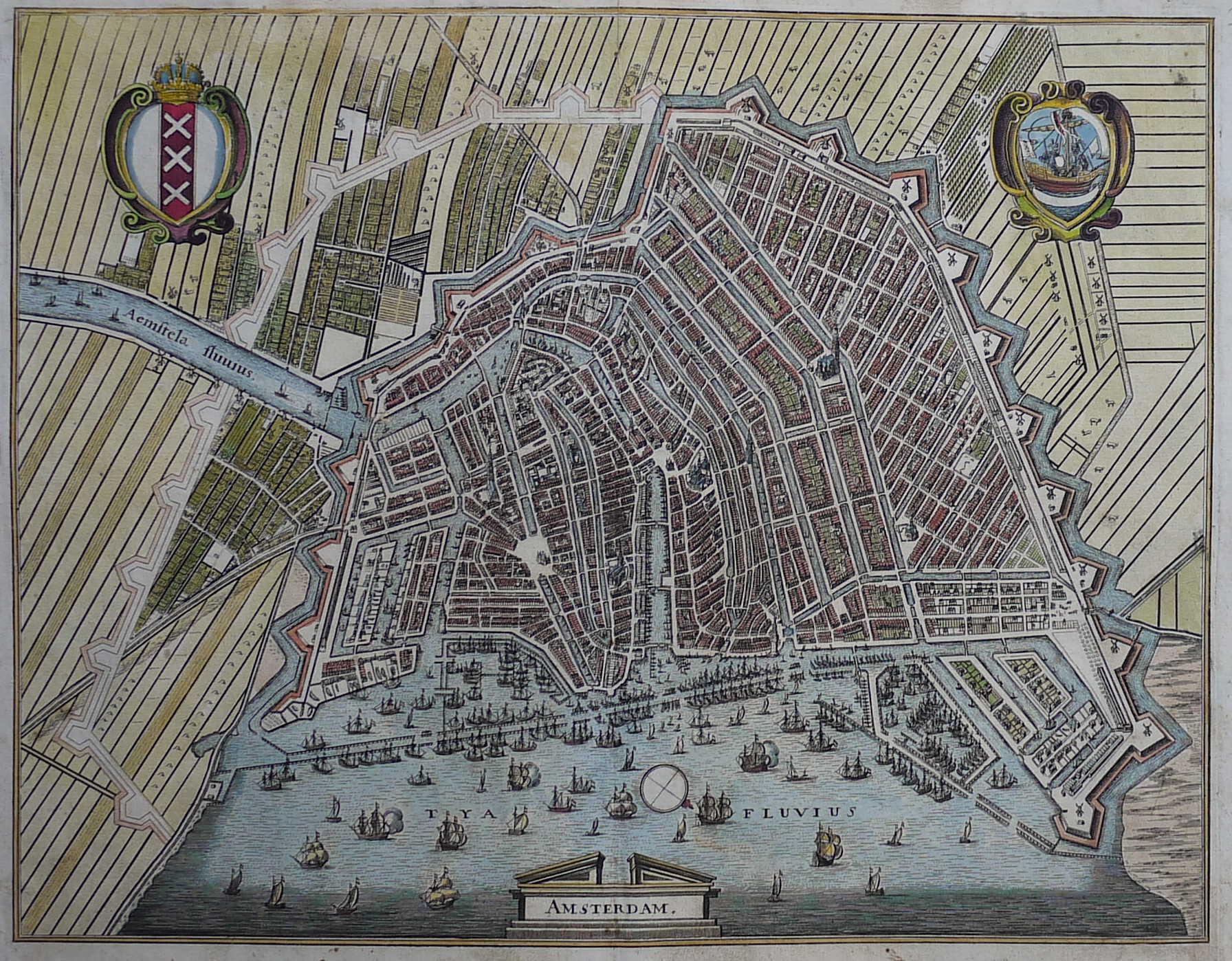 AMSTERDAM MERIAN Michael Jennings Antique Maps And Prints - Antique maps amsterdam