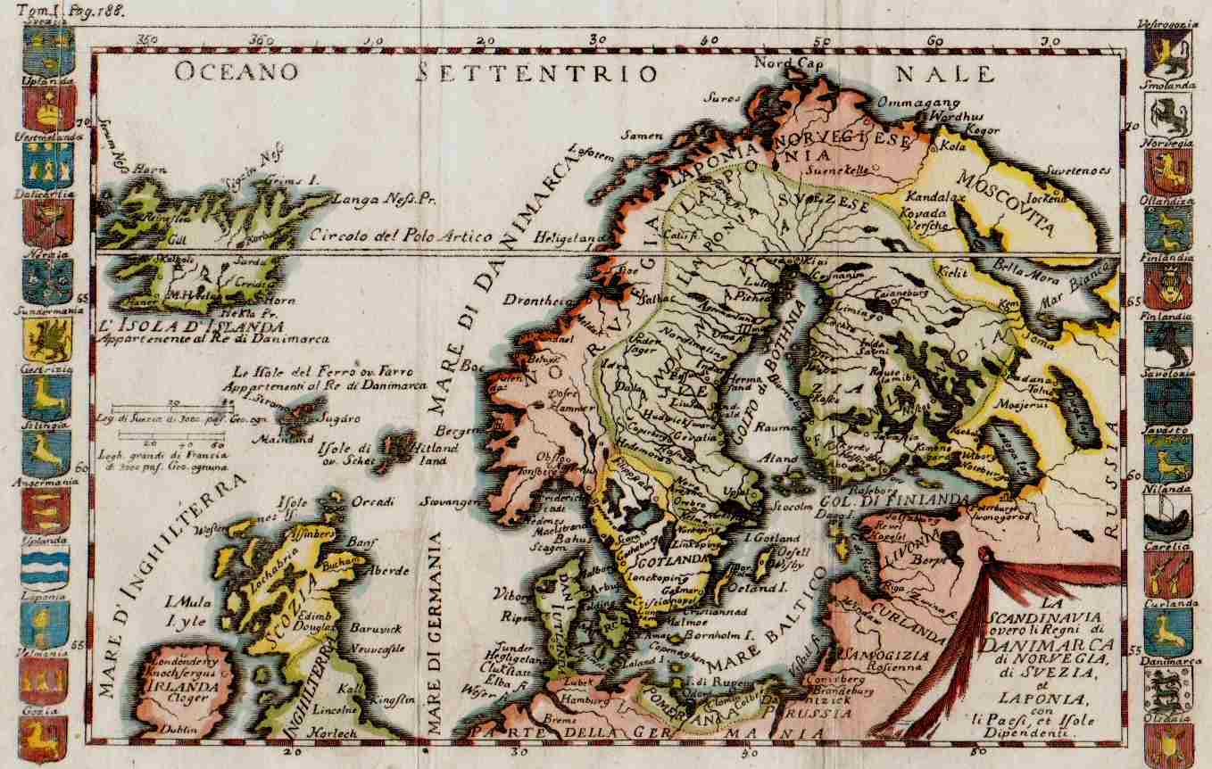 Scandinavia iceland michael jennings antique maps and prints antique map publicscrutiny Image collections