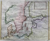 SEA CHART BALTIC A CHART OF THE BALTICK