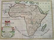 AFRICA A NEW MAP OF LIBYA OR OLD AFRICK