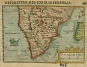 SOUTH AFRICA AFRICAE PARS MERIDIONALIOR
