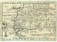 A MAP OF ZAARA OR THE DESART,NEGROLAND &...