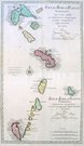 FRENCH WEST INDIES INSULAE ANTILLAE FRANCIAE SUPERIORES and INFERIORES
