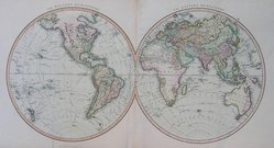 WORLD EASTERN & WESTERN HEMISPHERES