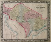WASHINGTON A PLAN OF THE CITY OF WASHINGTON