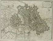 LILLE   PLAN OF THE CITY AND CITADEL OF ...