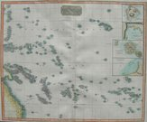 PACIFIC      MAP OF THE SLANDS IN THE PA...