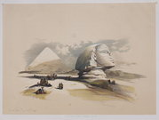 EGYPT   .THE SPHINX .. DAVID ROBERTS