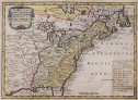 SHREIBER'S MAP OF COLONIAL NORTH AMERICA