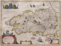 HONDIUS JANSSONIUS  MAP OF BRITTANY