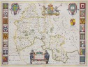 BLAEU MAP OXFORDSHIRE
