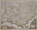 RARE MR SAMSON MAP OF PROVENCE