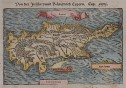 CYPRUS FROM MUNSTER'S COSMOGRAPHIA