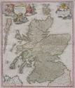 HOMANN'S CLASSIC MAP OF SCOTLAND