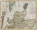 MORDEN'S MAP OF NORTHERN SCOTLAND SHETLANDS ORKNEYS ETC