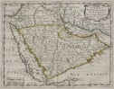 SANSON'S MAP OF ARABIA