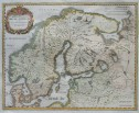 MERIAN'S MAP OF SCANDINAVIA