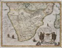 MERIAN'S MAP OF SOUTHERN AFRICA