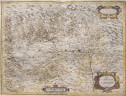 MAGINI'S MAP OF PIEDMONT