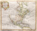 THOMAS BOWEN MAP OF NORTH AMERICA