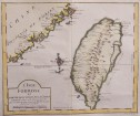 TAIWAN  FORMOSA  BELLIN'S CLASSIC MAP