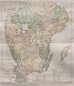 RARE MAP OF SOUTH SWEDEN BY MARELIUS