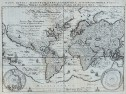 MERIAN'S WORLD MAP IN PLANISPHERE