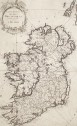 BELLIN'S MONUMENTAL MAP OF IRELAND ..FOR DEPOT DE LA MARINE