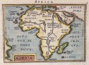 AFRICA   ORTELIUS  FROM THE EPITOME