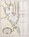 ANTIQUE MAP OF PENSACOLA 1764  BELLIN
