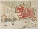 BASIRE'S DETAILED ANTIQUE MAP OF BARCELONA