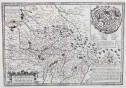 PETER KAERIUS' ANTIQUE MAP OF LIMOGES