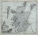 TKOMAS JEFFERYS MAP OF SCOTLAND 1749