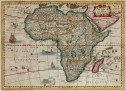 CLOPPENBERG'S SCARCE MAP OF AFRICA