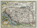 MERCATOR HONDIUS MAP OF CHINA FROM ATLAS MINOR