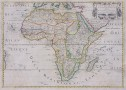SANSON'S 1650 MAP OF AFRICA