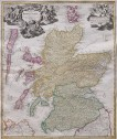 HOMANN'S MAP OF SCOTLAND