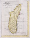 BELLIN'S DETAILED MAP OF MADAGASCAR