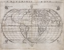 GASTALDI    RARE 1548 WORLD MAP