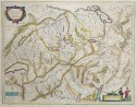 G. BLAEU ISSUE OF MERCATOR MAP OF SWITZERLAND