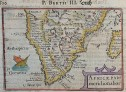 LANGENES BERTIUS MAP OF SOUTH AFRICA