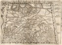 GASTALDI'S 1548 MAP OF INDIA