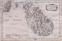 SANSON'S UNCOMMON MAP OF MALTA & GOZO
