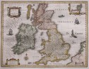 BLAEU'S MAP OF THE BRITISH ISLES