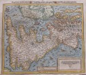 MUNSTER'S MAP OF BRITISH ISLES ENGELLANDT  AFTER ORTELIUS 1588
