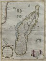 CORONELLI'S SUPERB MAP OF MADAGASCAR