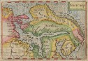 BERTIUS EDITION OF LANGENES BARENTS MAP OF SCANDINAVIA