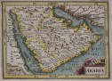 BERTIUS MAP OF ARABIA