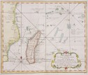 MADAGASCAR  SURROUNDING ISLANDS  BELLIN 1740